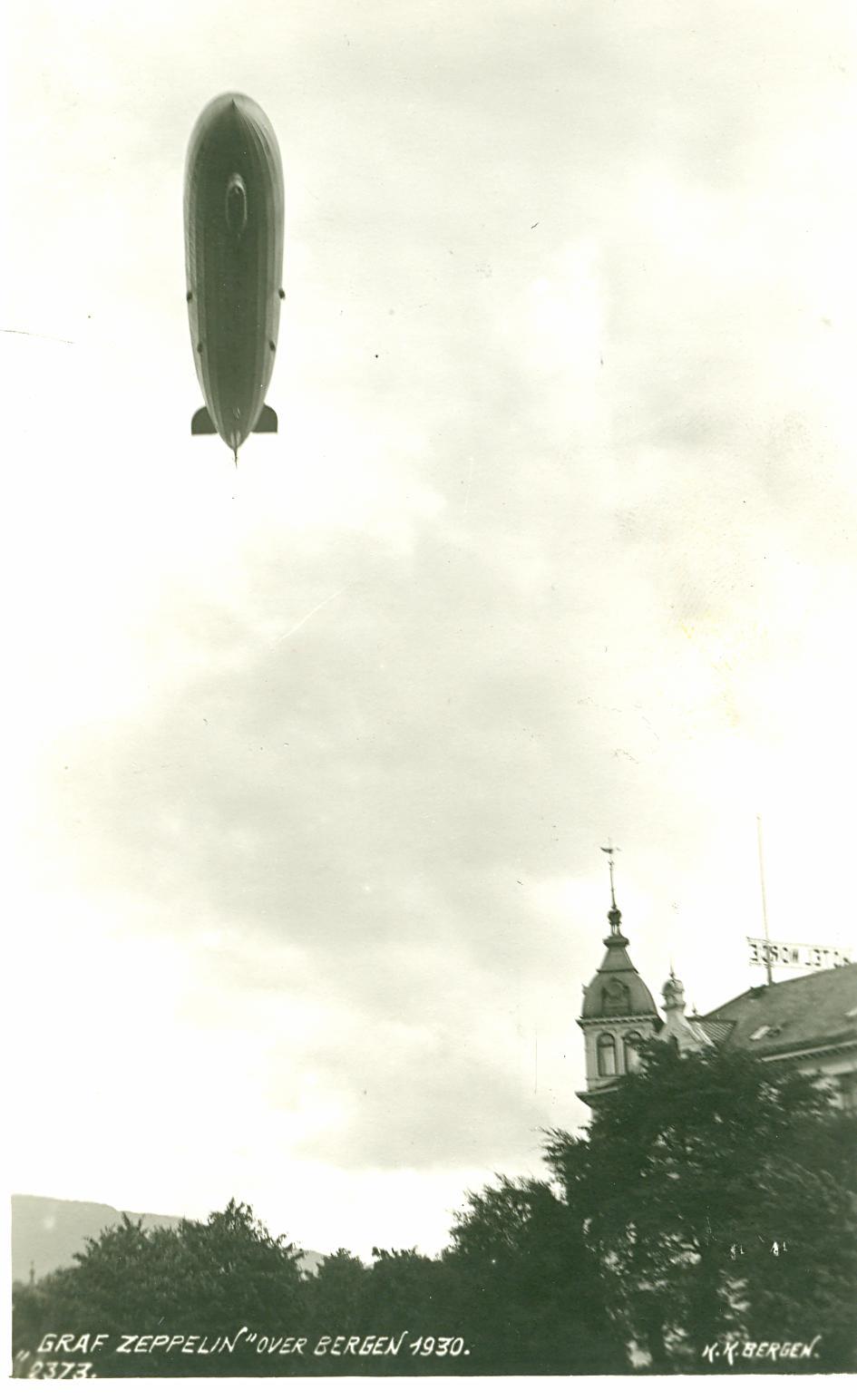 Graf Zeppelin over Bergen