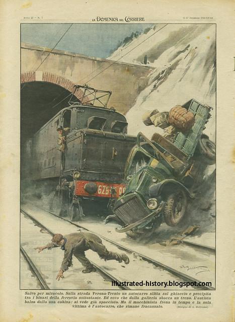 Domenica del Corriere - 11 / 17 Febbraio 1940