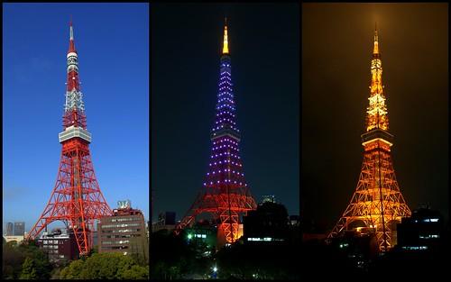 Tokyo Tower's Tridente views