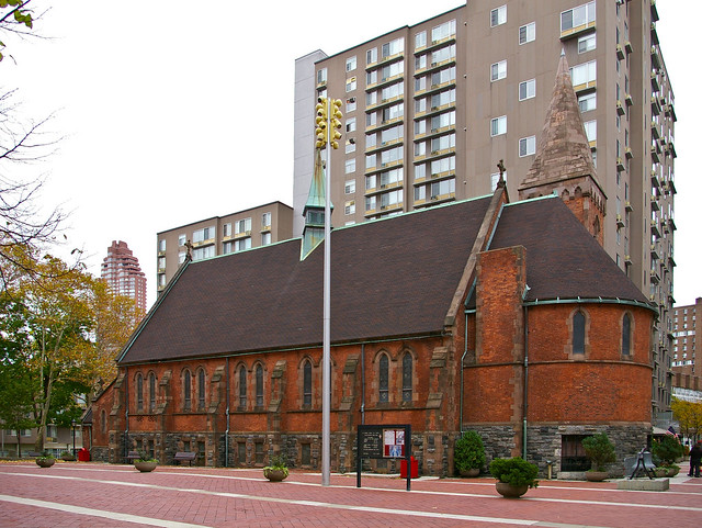 Walk In New York - Roosevelt Island - The Chapel of Good Shepherd 04