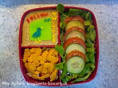 Cheese Colouring Bento Tutorial