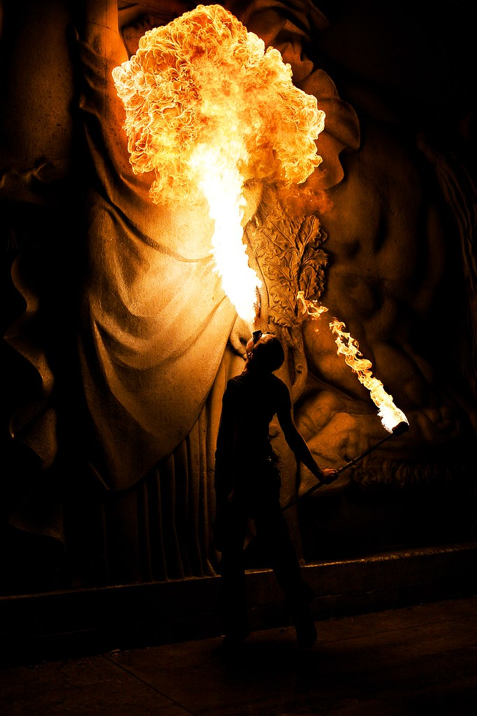 Огненное шоу - фотографии Томаса Чижевски (Thomas Ciszewski)
