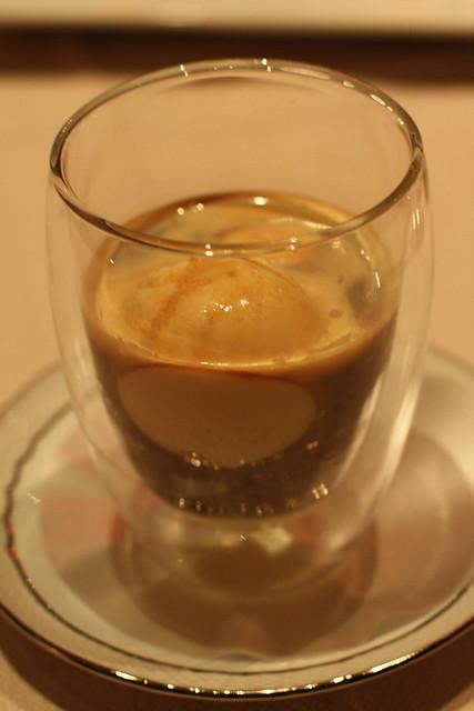 AFFOGATO (zabaglione gelato, espresso and amaro) - At Marea | Flickr ...