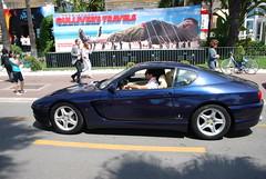 race car, automobile, automotive exterior, wheel, vehicle, performance car, automotive design, ferrari 456 gt, ferrari s.p.a., land vehicle, luxury vehicle, supercar, sports car,