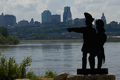 Lewis and Clark at Kaw Point