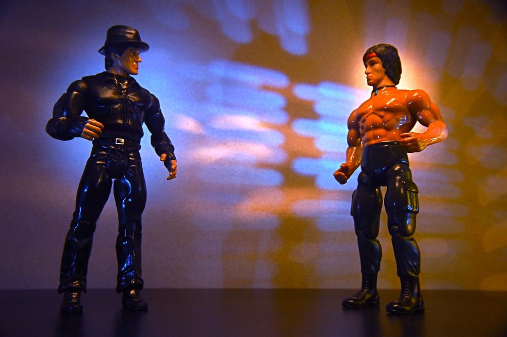 Rocky vs. Rambo (140/365)