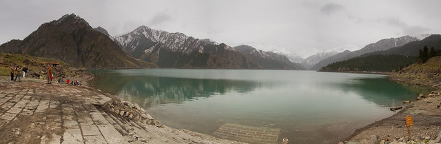 Heaven Lake pano PS