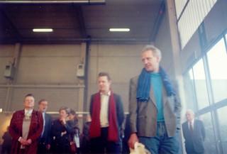 Jan Muller & Willy Lamain bij Casa Europea opening, 1994