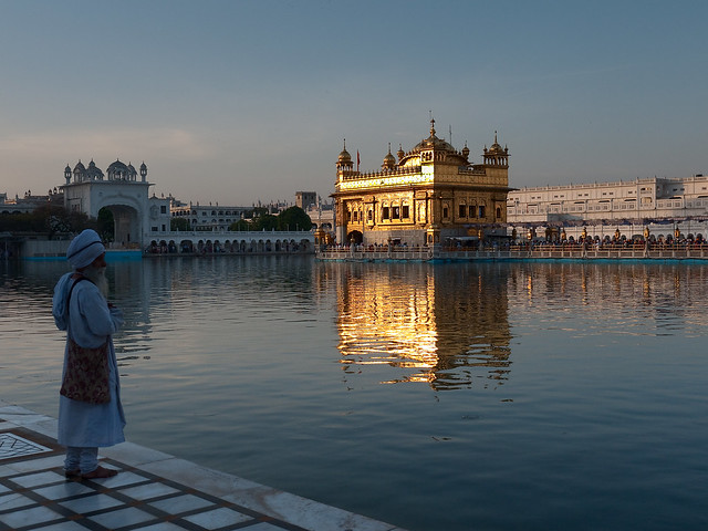 Harmandir Sahib: El Templo Dorado de Amritsar, India