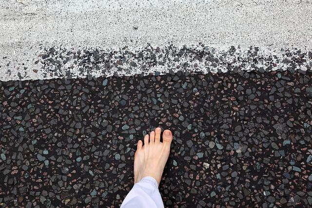 Foot, meet Abbey Road