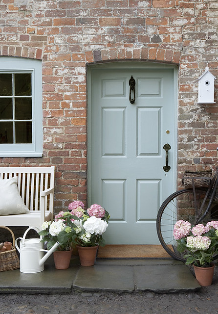 Country Chic Front Door