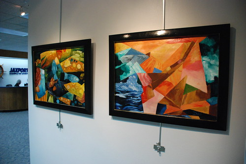 JAXPORT Gallery: Artist Keith Doles