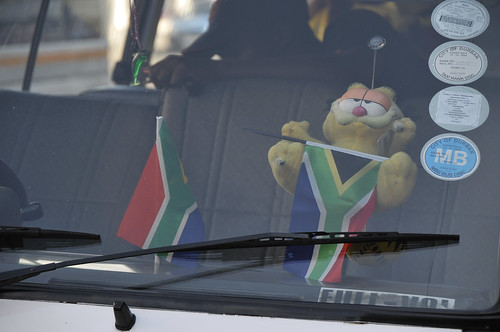 Garfield Supports Bafana