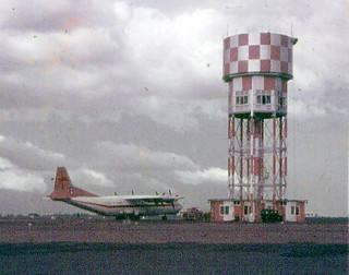 Russian Antonov AN12 at RAAF Darwin in December 1961