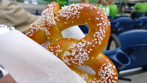 Soft Pretzel at Game