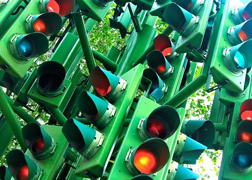 London traffic lights - t2i by @Doug88888