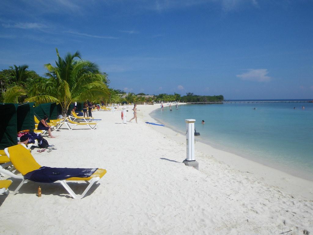 пляж роатан