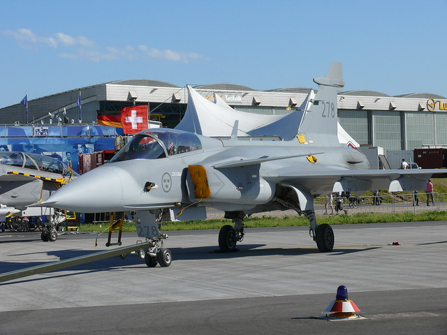 Sweden Air Force Saab JAS-39C Gripen