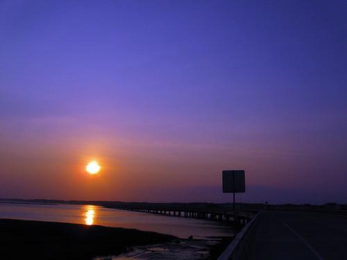 sunrise dawn virginia va chincoteague
