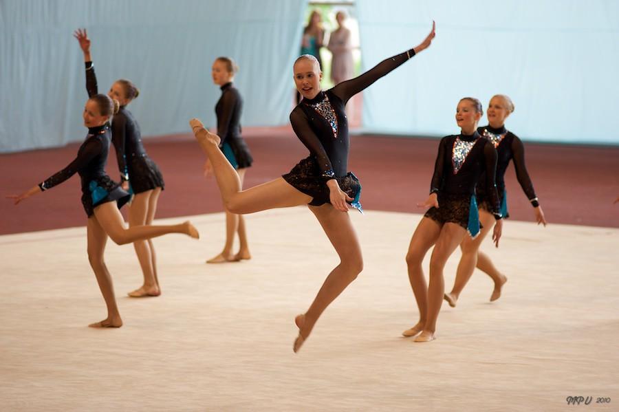 Gymnastics at Kupittaa