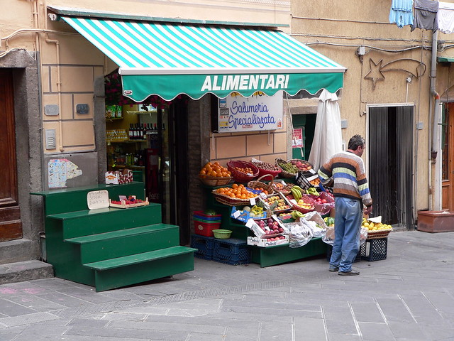 Grocery Store in Riomaggiore