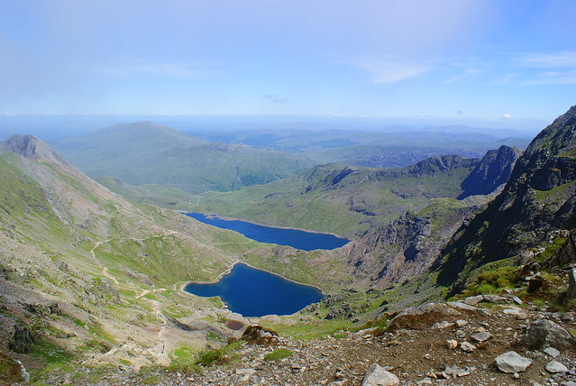 The Horizon from Mount Snowdon