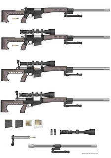 Bolt-Action .308WIN / 7.62NATO Sniper Rifle