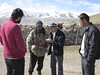Snow leopard researcher continues interviews with local villagers about their interactions with snow leopards