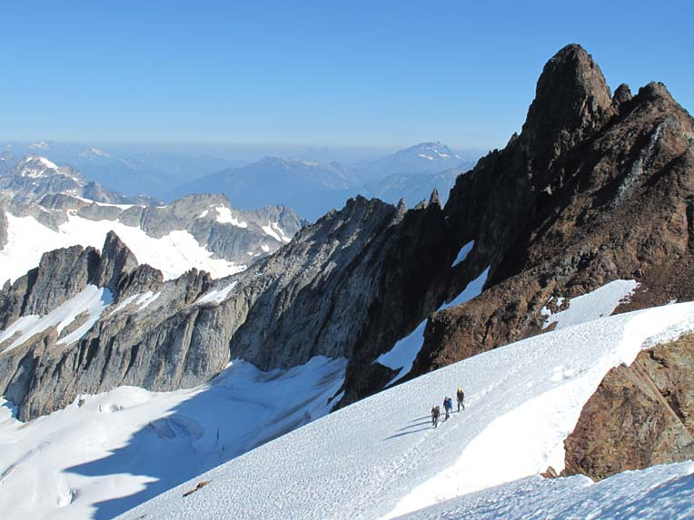 EBC-Sahale Mountain-Sahale Glacier Route