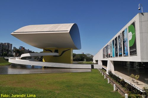 Museu Oscar Niemeyer - Curitiba - Parana' - Brasil