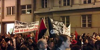 Protestni shod proti sežiganju odpadkov