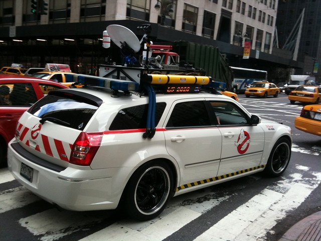 Ghostbusters Ecto 1 Magnum In New York City Flickr Photo Sharing