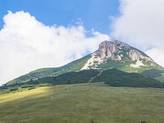 Blick vom Jochgrimm zum Weißhorn (2.317 m)