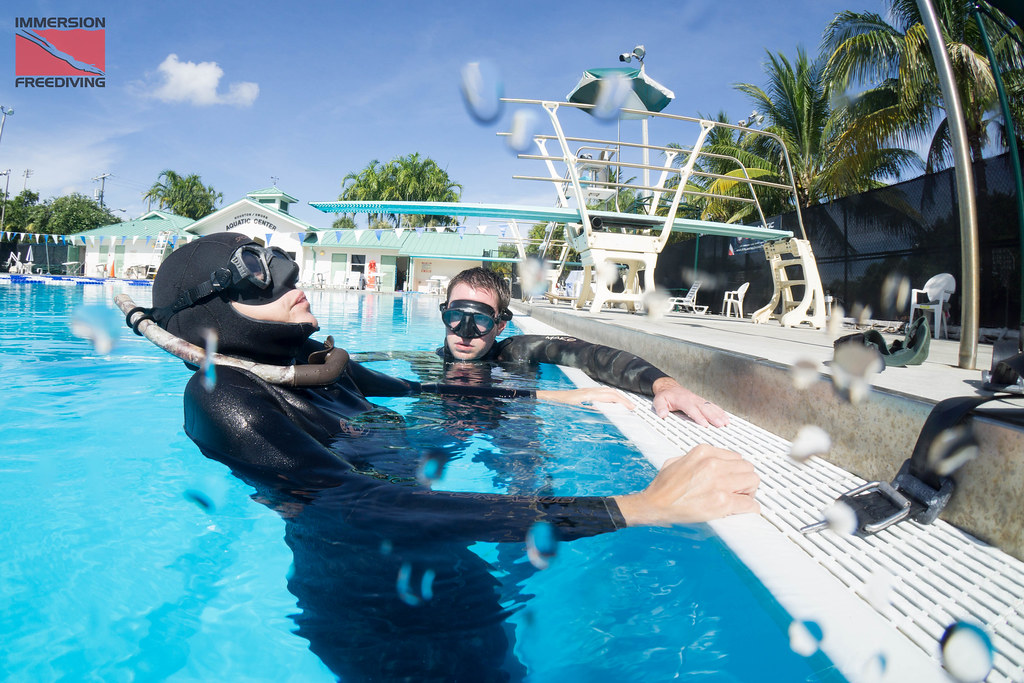 Immersion Freediving 4 day PFI Intermediate course July 29