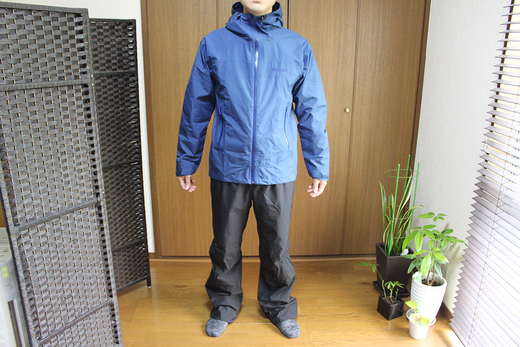 Marmot Comodo Jacket and Pant 前から