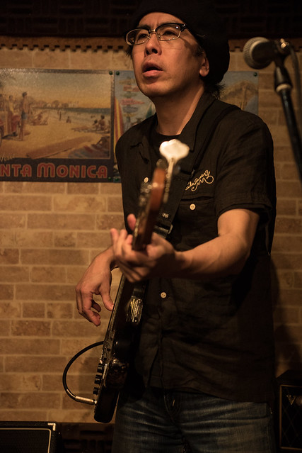 the AstroBluenauts live at Butcher Hachioji, Tokyo, 30 Jun 2017 -00066
