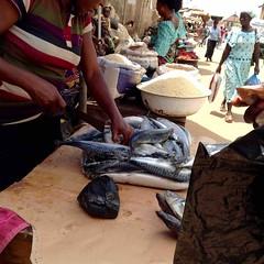 Fishwife, Street market, Adimula Palace Roundabout, Ilesa, Osun State, Nigeria. #JujuFilms