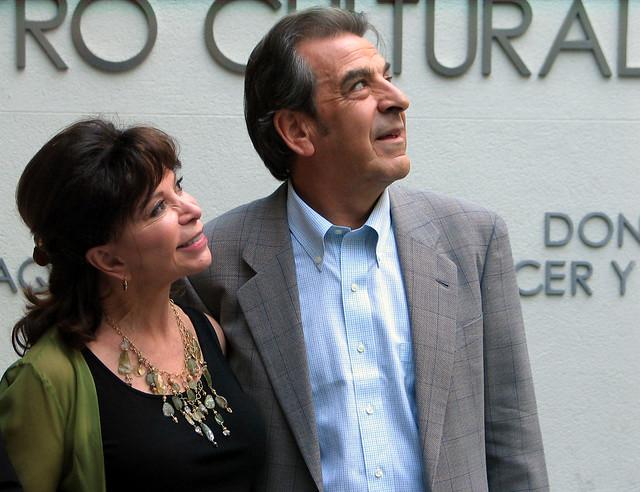 Eduardo Frei e Isabel Allende