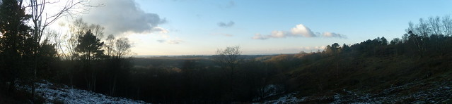 View from Black Down - Panorama 2
