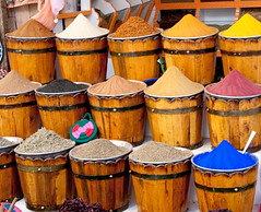 Spices in the Aswan souk