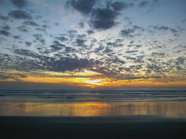 Nice sunset. Silver Strand State Beach. | Flickr - Photo Sharing!