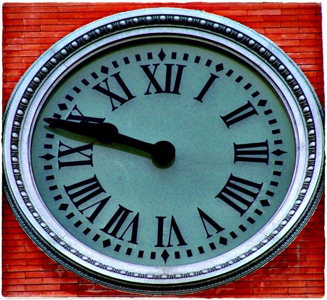 Reloj De La Real Casa De Correos Puerta Del Sol Madrid