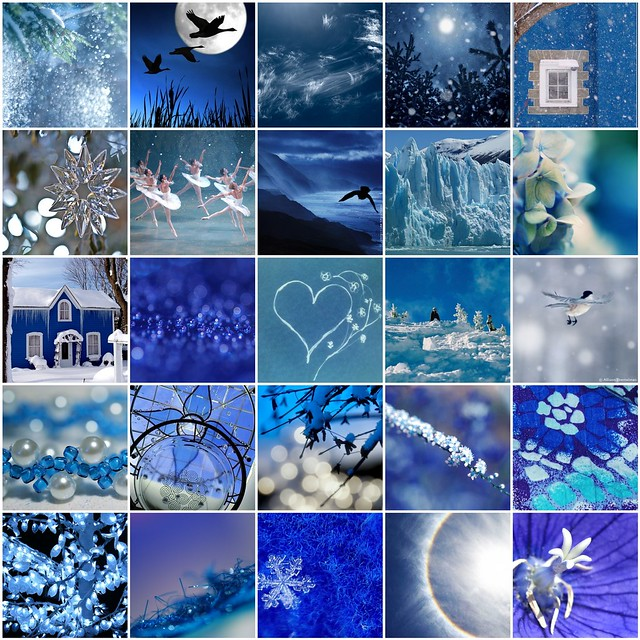 blue collage a gallery on flickr