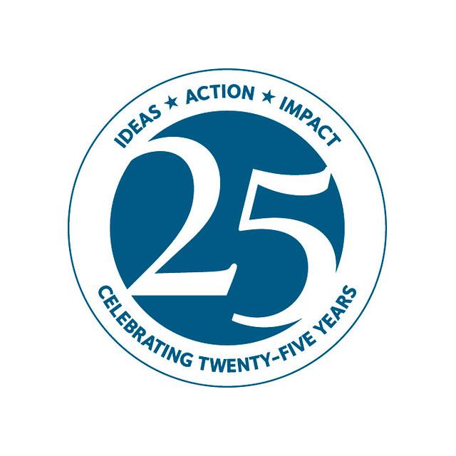 Washington Institute 25th Anniversary Logo