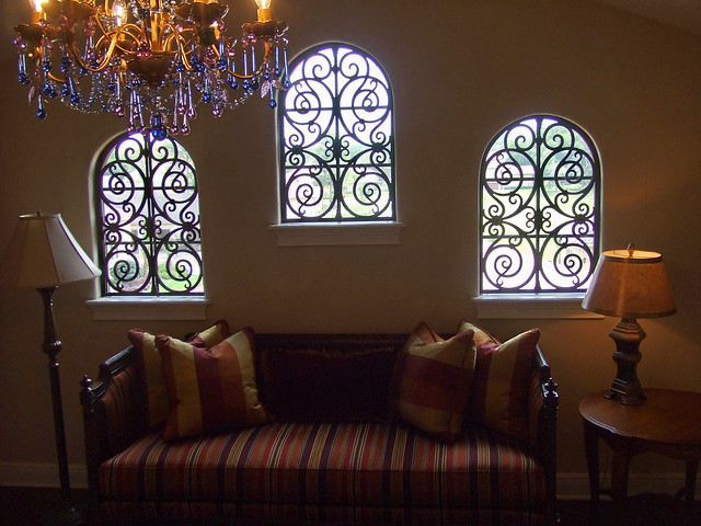 Faux Wrought Iron Decorative Window Treatment Flickr
