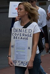 Denied coverage because of a pap smear by Paul Schreiber