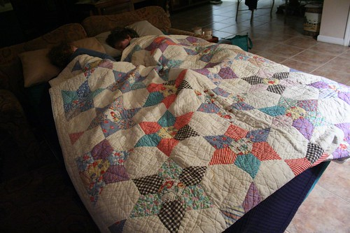 stuff I want :: great-grandmother's quilt