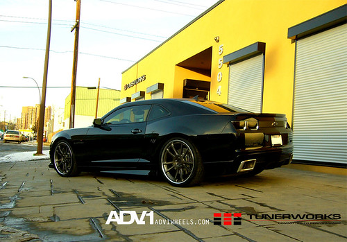 Camaro SS on ADV5.2 by TunerWorks / ADV.1 Wheels