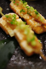 Grilled salmon belly with Ponzu Sauce - DSC_2857