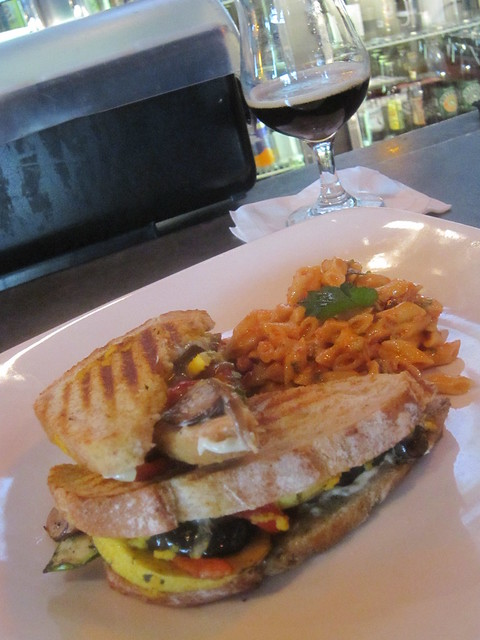 Grilled veggie sandwich | Roasted Zucchini, yellow squash, c ...